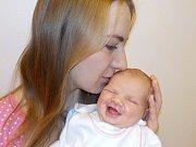 Elena Kovářová je prvorozená holčička Barbory a Vojtěcha z Jablonného nad Orlicí. Narodila se s váhou 3560 g dne 3. 11. v 14.44 hodin.