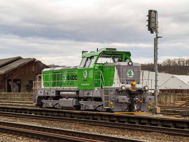 Lokomotivy slouží i Škodovce.