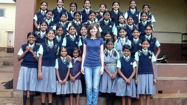 Kristýna Stejskalová navštívila Indii.