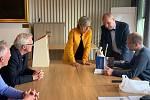 Gymnazisté slaví 20 let spolupráce se školou v Norsku.