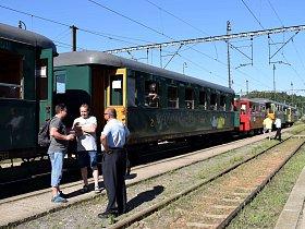 Historický vlak z České Třebové do Hanušovic