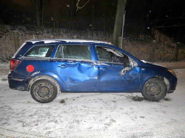 Dopravní nehoda vČeské Třebové.