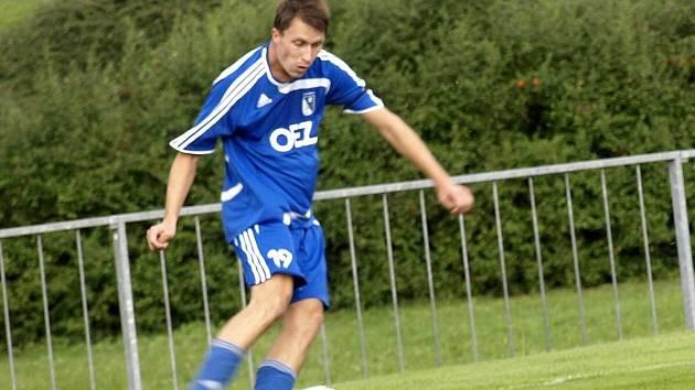ÚLOHOU útočníka Jakuba Černíka je střílet góly. Občas jej ale trápí klid v zakončení, aby svou bilanci vylepšil.