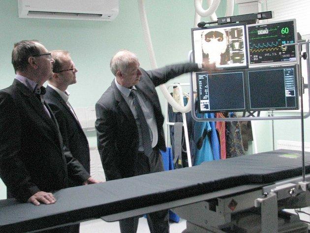Orlickoústecká nemocnice má novou angiolinku.