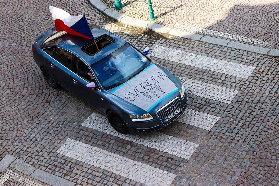 Spanilá jízda na vysokomýtském náměstí
