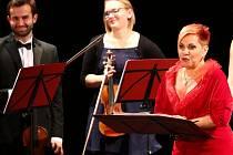 Dagmar Pecková v ústeckém Roškotově divadle.