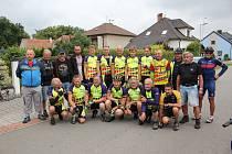 Na začátku července vyrazili členové choceňského Cyklistického spolku na týdenní soustředění.