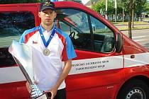 Mistrovství Evropy počtvrté v řadě ovládl Lukáš Novák.