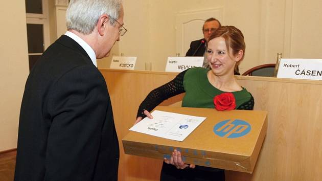 Milan Šimůnek z Konrad-Adenauer-Stiftung a Šárka Mikulecká.