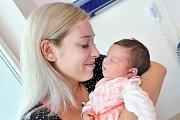 Justina Smejkalová je po Liliance druhou dcerou Dany a Lukáše z Lanškrouna. Když se 19. 8. v 9.17 hodin narodila, vážila 4,347 kg.