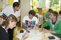 Další studenti ústecké SOŠ a SOU automobilní se rozhodli vstoupit do registru dárců kostní dřeně.