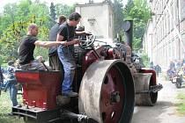 Přehlídka parních válců v Muzeu starých strojů v Žamberku