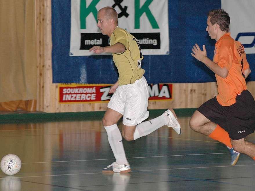Nestačili na Jistebník. Vysokomýtští futsalisté v prvních dvou zápasech semifinále play-off nestačili na loňského mistra republiky z Jistebníku a dvakrát s ním prohráli.