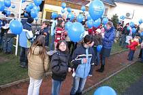 135 tisíc balónků s dětskými přáníčky Ježíškovi vzlétlo v úterý v 15.40 k nebi z 270 míst po celé republice.
