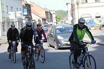Jízda Cyklo Glacensis startovala i v Chocni.