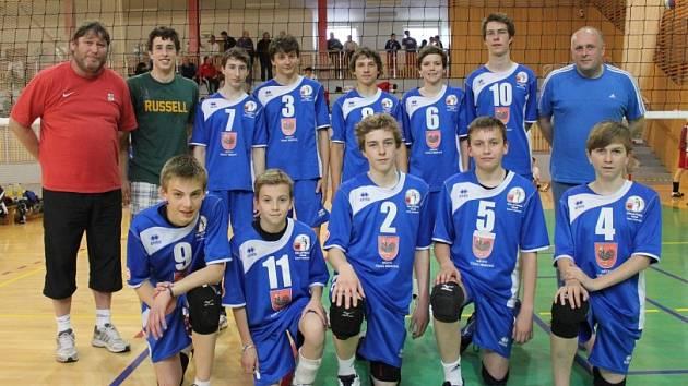 VRCHOLEM sezony starších žáků bylo mistrovství republiky ve Frýdku-Místku, kde skončilo mužstvo na vynikajícím pátém místě.