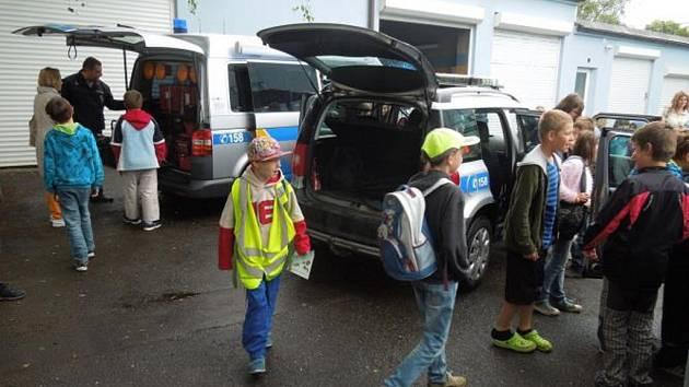 Den otevřených dveří Policie v Ústí nad Orlicí