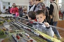 Výstava železničních modelů a kolejišť v Chocni.
