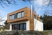 Dřevostavba v Chocni soutěží o titul Dřevěná stavba roku 2017.