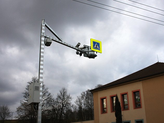 Úsekové měření rychlosti v Třebovici