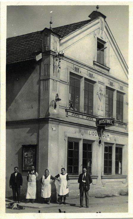Lidový dům v období první republiky,
