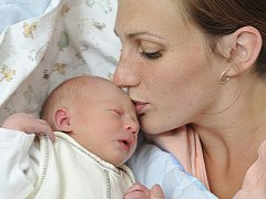 Jakub Štajner bude doma v Letohradu s rodiči Michaelou a Františkem. Když se jim 11. října ve 12.20 narodil, vážil 2,81 kg.