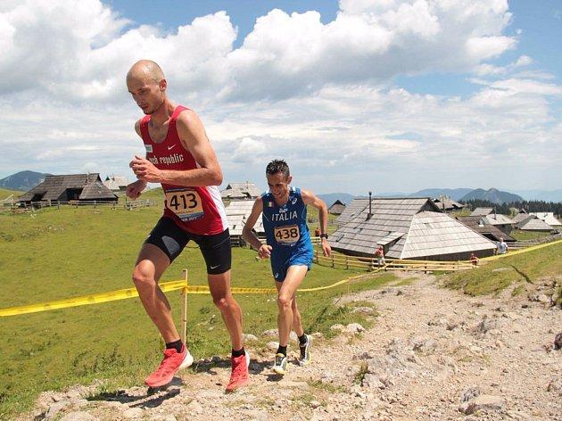 Na mistrovství Evropy v běhu do vrchu byl ústecký běžec Robert Krupička nejlepší z českých závodníků.