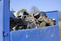 Clean up the World - úklid Střelnice u Semanína.