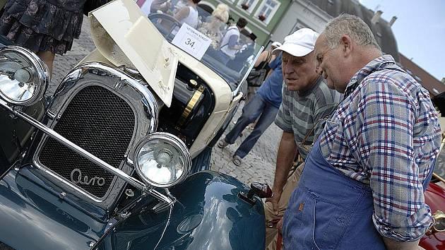 Veteran Car Club Červená Voda - putovní výstava regionem