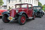 Veteran Car Club Červená Voda pořádal sraz historických vozidel.