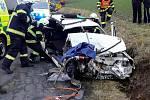 Dopravní nehoda v Jablonném nad Orlicí.