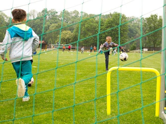 Na stadionu Žamberka se konal jeden z náborů, jež jsou součástí projektu Měsíc náborů.