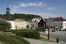 Náměstí v Jablonném nad Orlicí