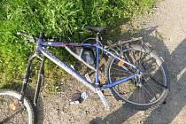 Místo nehody v Lanšperku.