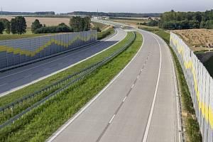 Již hotový úsek dálnice S8 v polském vnitrozemí
