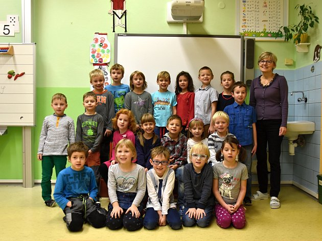Žáci ze Základní školy Komenského vLetohradu.
