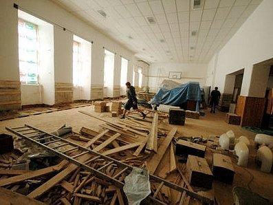 Dělnický dům  prochází velkou obnovou.