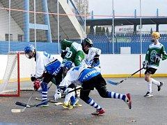 Extraliga mladšího dorostu: SK Hokejbal Letohrad - HBC Malenovice.