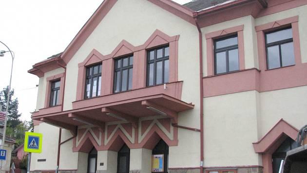 Kino v Jablonném nad Orlicí.