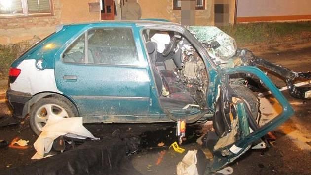 Smrtelná dopravní nehoda v Lanškrouně.