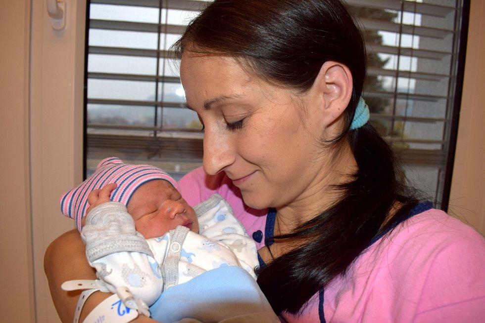 Tobias Faltus, tak pojmenovala syna Zuzana Faltusová ze Žamberka. Narodil se 6. 11. v 8.29 hodin, kdy vážil 2,880 kg.