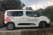 Nový vůz senior dopravy v Lanškrouně