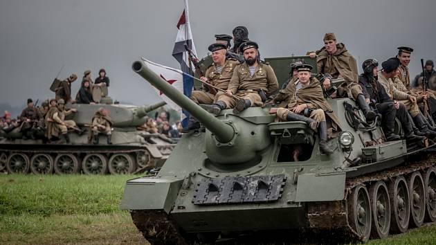 Vojensko-historická akce Cihelna