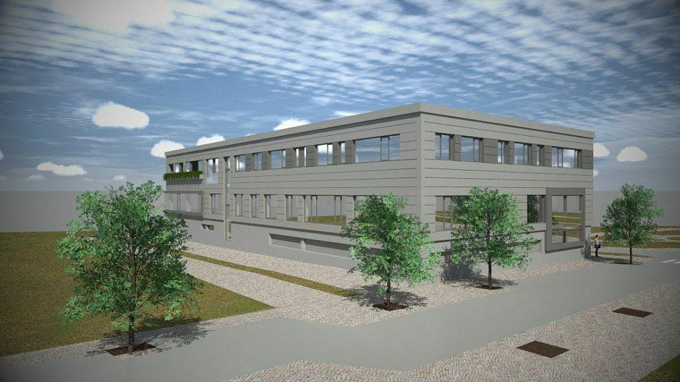 Vizualizace rehabilitačního centra