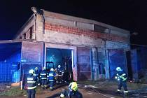 Dne 18. prosince 2020 likvidovaly jednotky hasičů v Zámrsku požár zemědělského stroje v bývalém zemědělském objektu.