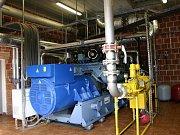 Ústav nově vytápí bioplyn.