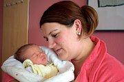 Tereza Němcová těší rodiče Květu a Miloslava z Olešné u Brandýsa nad Orlicí. Narodila se 15. 11. v 14.44 hodin, vážila 3,8 kg a radost z ní mají i bráškové Miloušek a Štěpánek.