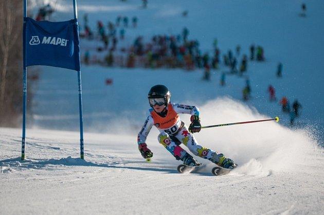Pohár Orlických hor pokračoval obřím slalomem na Dolní Moravě