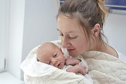Samuel Čuda bude s maminkou Veronikou v Chocni. Chlapeček se s váhou 2,910 kg narodil 13. 2. v 5.47 hodin.