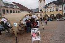 Happening Hazardu stop v Ústí nad Orlicí.